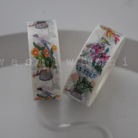 washi páska bylinková