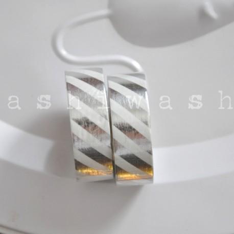 washi páska strieborná bodka