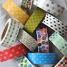 WASHI pásky - bodkované