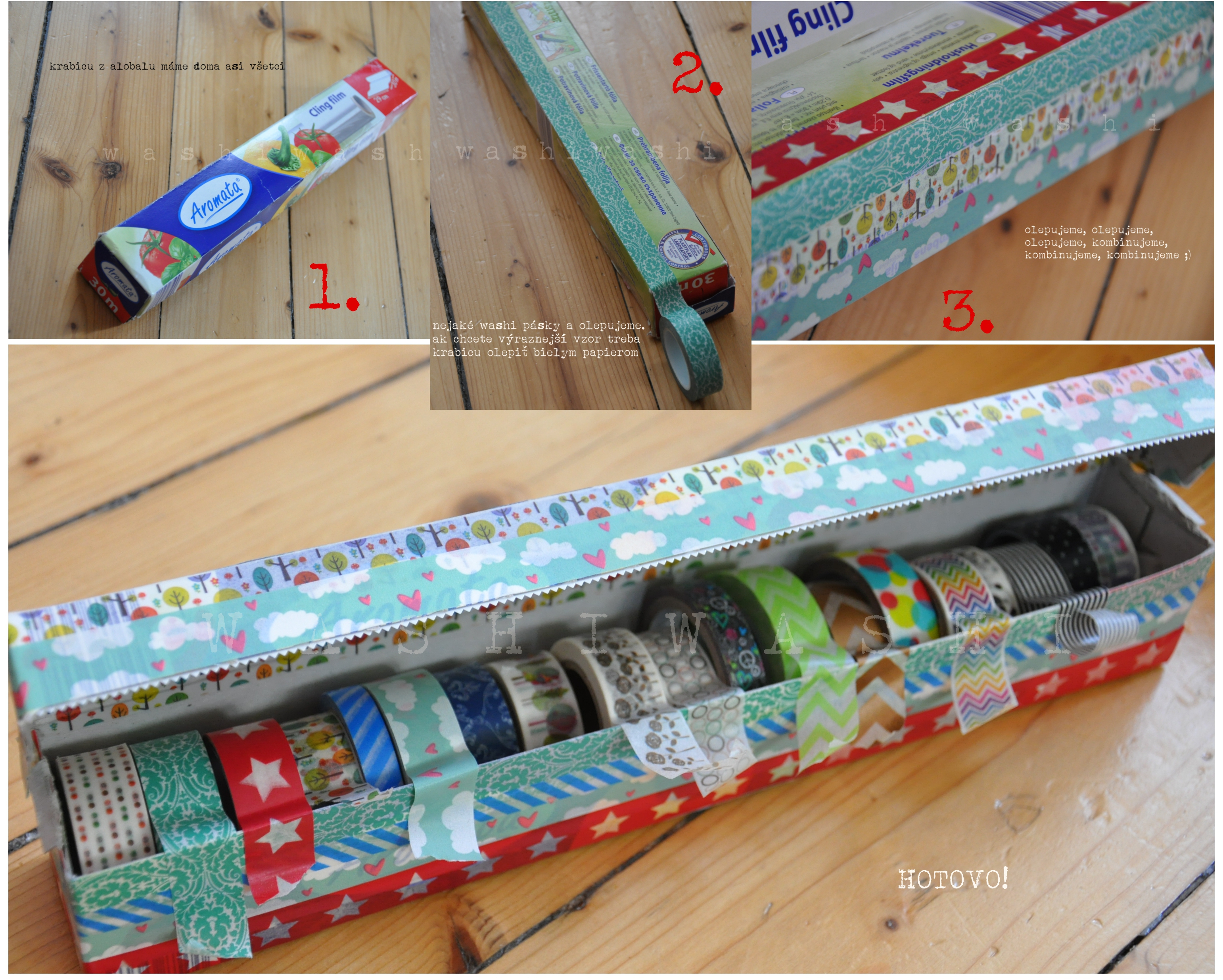 krabicka na pasky